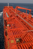 Tanker crude oil carrier ship Stock Photography