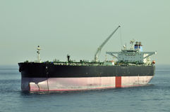 Tanker crude oil carrier ship Royalty Free Stock Photo