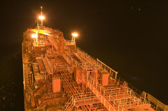 Tanker crude oil carrier ship Royalty Free Stock Image