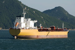 Tanker crude oil carrier ship Royalty Free Stock Photography