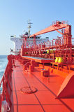 Tanker crude oil carrier ship Stock Photos