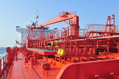 Tanker crude oil carrier ship Stock Photo