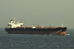 Tanker crude oil carrier ship Royalty Free Stock Photos