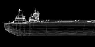 Tanker crude oil carrier ship Stock Images