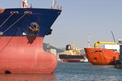 Tanker in der Werft Lizenzfreies Stockfoto