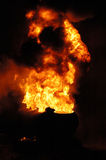 Tanker Fire Stock Photography