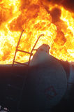 Tanker Fire Stock Photos