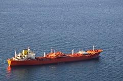 Tanker, Gibraltar Stock Photo