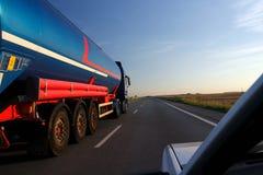 Tanker-LKW Stockfoto