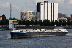 Tanker on the Maas Royalty Free Stock Images