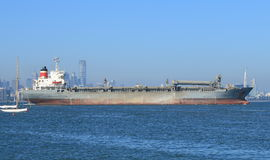 Tanker in Melbourne Royalty Free Stock Images