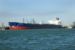 Tanker Nevskiy Prospect alongside Stock Photos