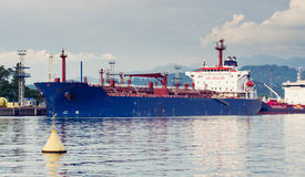 Tanker in port Royalty Free Stock Photo