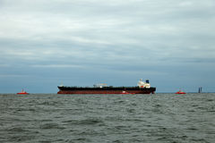 Tanker at the sea Royalty Free Stock Photography