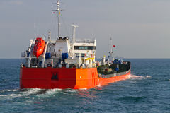 Tanker Ship. From Istanbul Turkey Stock Photos