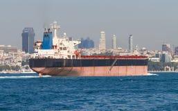 Tanker Ship. From Bosphorus, Istanbul Stock Image