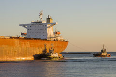 Tanker Ship Royalty Free Stock Photography