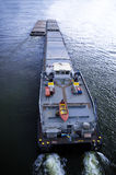 Tanker ship. Comes into port for loading Royalty Free Stock Image