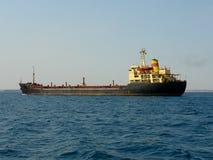 Tanker ship. On the Crimea Black Sea Stock Photos