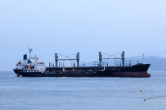 Tanker ship in harbor Royalty Free Stock Photography
