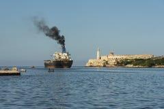 Tanker ship Havana Royalty Free Stock Photo
