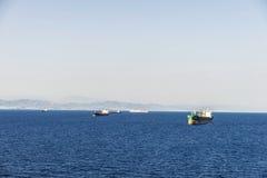 Tanker ship Stock Images