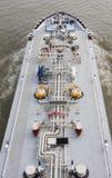 Tanker Ship on Rhine River, Germany Royalty Free Stock Photo