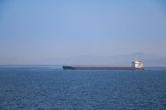 Tanker ship in the sea Royalty Free Stock Photography