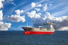 Tanker ship at sea Royalty Free Stock Photography