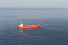 Tanker ship at sea Royalty Free Stock Photography