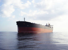 Tanker ship. Vlcc very large crude oil tanker on open sea Stock Photo