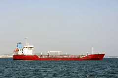 Tanker on standby Royalty Free Stock Images