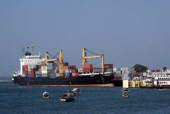Tanker, Stone Town, Zanzibar, Tanzania Stock Images