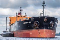 Tanker Torm San Jancinto Stockfotos