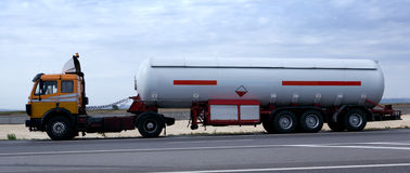 Tanker Truck Royalty Free Stock Image