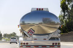 tanker truck in California Royalty Free Stock Image