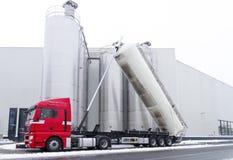 Tanker truck Stock Photos