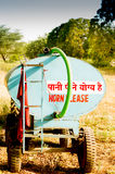 Tanker used to supply water in Gurgaon (Delhi) Royalty Free Stock Photo