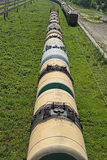 Tanker wagons royalty free stock photo