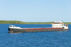 The tanker waits for loading Royalty Free Stock Image