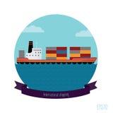 Tankercontainer Vector Illustratie