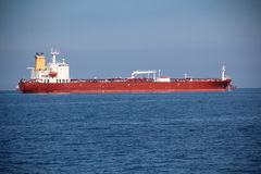Tankers on the high seas Stock Photo