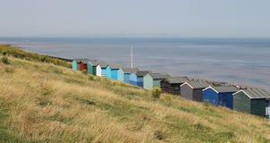 Tankerton Beach Huts Stock Photo