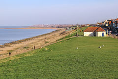 Tankerton slopes seaside coast Royalty Free Stock Image