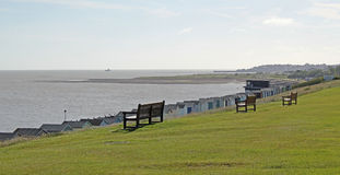 Tankerton Slopes And Yacht Club Royalty Free Stock Photos