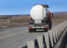 Tankfahrzeug-LKW Stockfoto