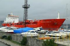 tankfartyg för alessandro dp-holländare Royaltyfri Fotografi