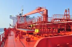 tankfartyg för bärareråoljaship Arkivfoto