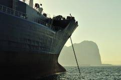 tankfartyg för olja för gasgrudeindustri Royaltyfria Bilder