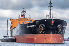 Tankfartyg Torm San Jancinto Arkivfoton